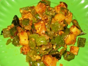 Peppers & Potato Curry
